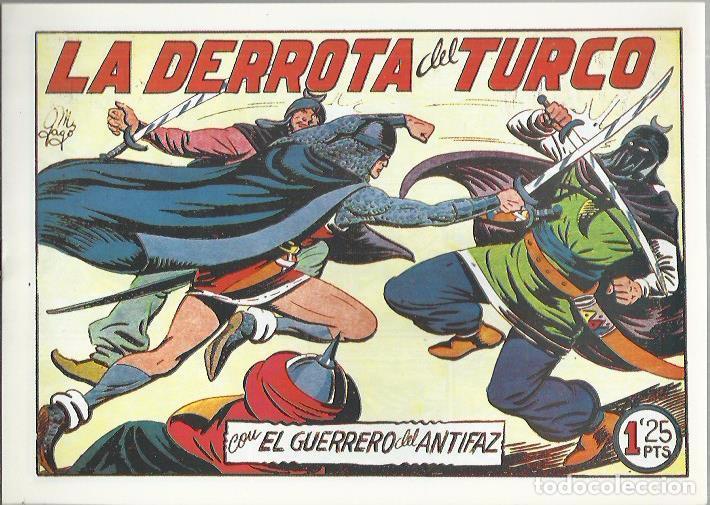 Tebeos: EL GUERRERO DEL ANTIFAZ ( COMIC-MAN ) AÑO 1980 ? LOTE - Foto 81 - 26874139