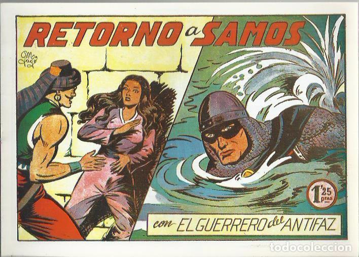 Tebeos: EL GUERRERO DEL ANTIFAZ ( COMIC-MAN ) AÑO 1980 ? LOTE - Foto 83 - 26874139
