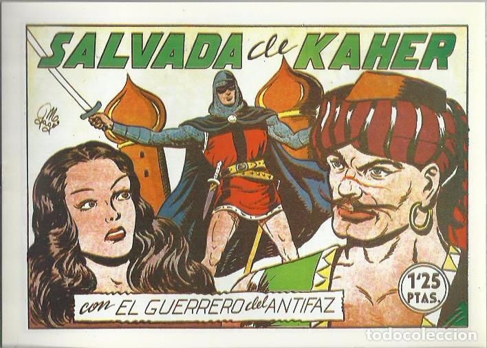 Tebeos: EL GUERRERO DEL ANTIFAZ ( COMIC-MAN ) AÑO 1980 ? LOTE - Foto 84 - 26874139