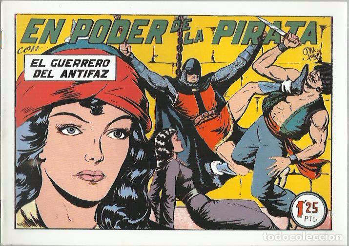 Tebeos: EL GUERRERO DEL ANTIFAZ ( COMIC-MAN ) AÑO 1980 ? LOTE - Foto 87 - 26874139