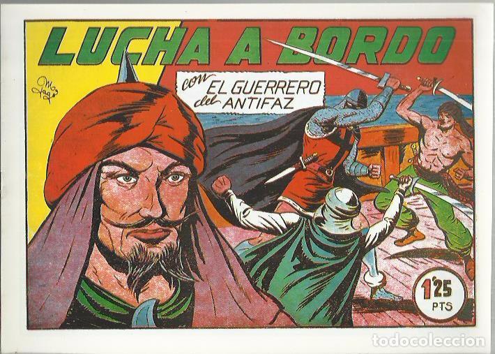 Tebeos: EL GUERRERO DEL ANTIFAZ ( COMIC-MAN ) AÑO 1980 ? LOTE - Foto 88 - 26874139