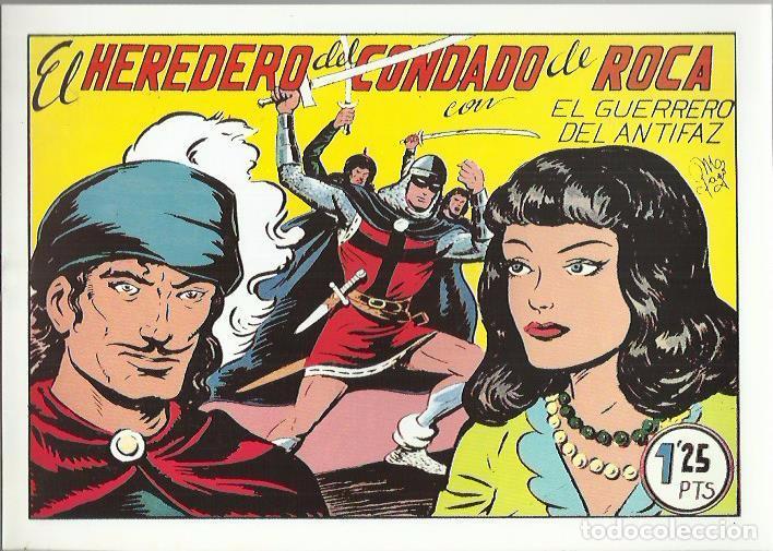 Tebeos: EL GUERRERO DEL ANTIFAZ ( COMIC-MAN ) AÑO 1980 ? LOTE - Foto 89 - 26874139