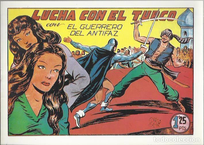 Tebeos: EL GUERRERO DEL ANTIFAZ ( COMIC-MAN ) AÑO 1980 ? LOTE - Foto 90 - 26874139