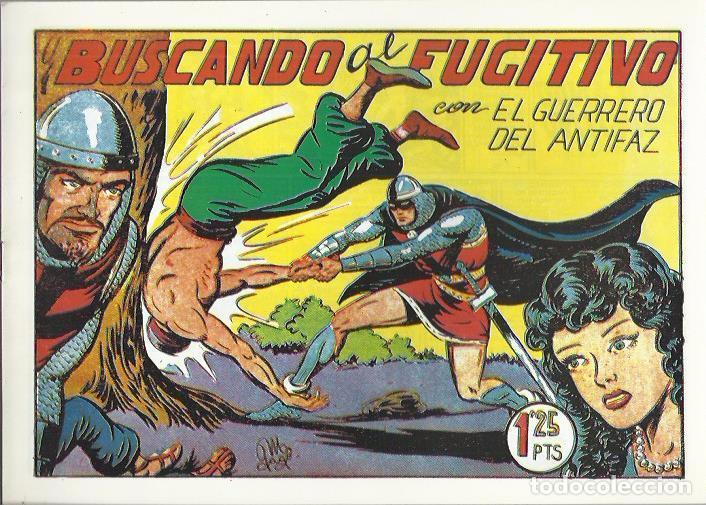 Tebeos: EL GUERRERO DEL ANTIFAZ ( COMIC-MAN ) AÑO 1980 ? LOTE - Foto 91 - 26874139
