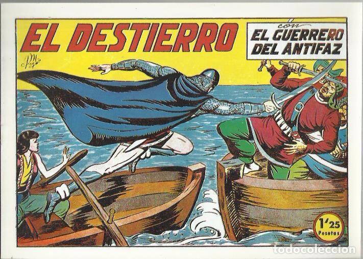 Tebeos: EL GUERRERO DEL ANTIFAZ ( COMIC-MAN ) AÑO 1980 ? LOTE - Foto 92 - 26874139