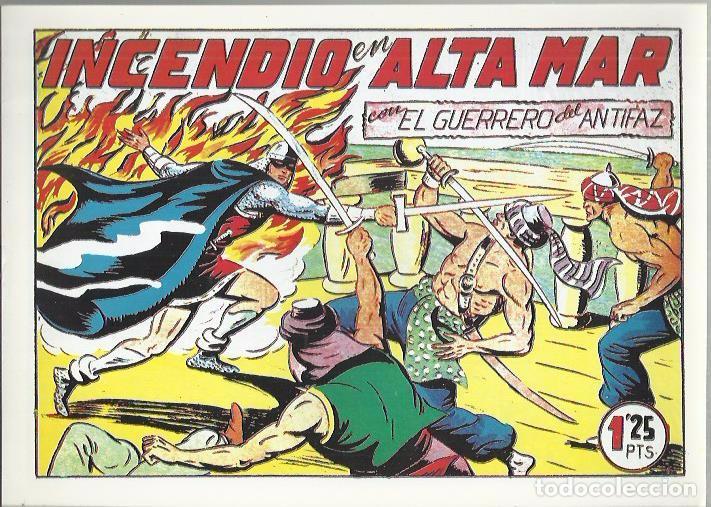 Tebeos: EL GUERRERO DEL ANTIFAZ ( COMIC-MAN ) AÑO 1980 ? LOTE - Foto 93 - 26874139