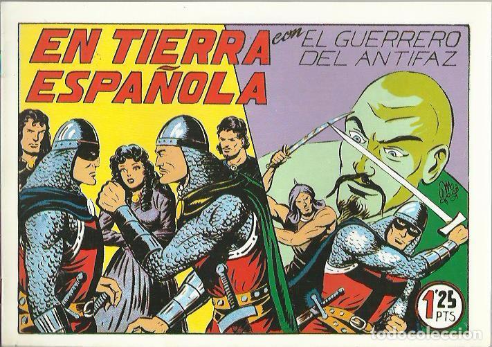 Tebeos: EL GUERRERO DEL ANTIFAZ ( COMIC-MAN ) AÑO 1980 ? LOTE - Foto 95 - 26874139