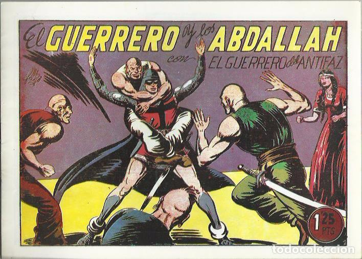 Tebeos: EL GUERRERO DEL ANTIFAZ ( COMIC-MAN ) AÑO 1980 ? LOTE - Foto 97 - 26874139