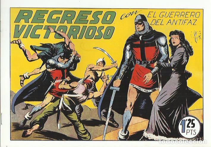 Tebeos: EL GUERRERO DEL ANTIFAZ ( COMIC-MAN ) AÑO 1980 ? LOTE - Foto 98 - 26874139