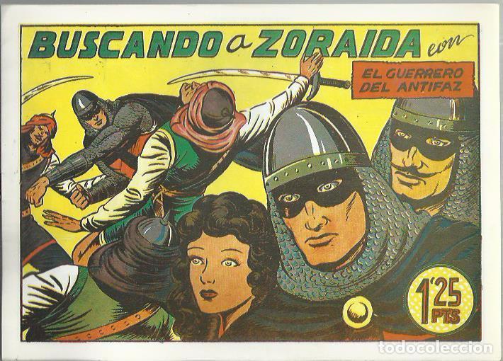 Tebeos: EL GUERRERO DEL ANTIFAZ ( COMIC-MAN ) AÑO 1980 ? LOTE - Foto 99 - 26874139