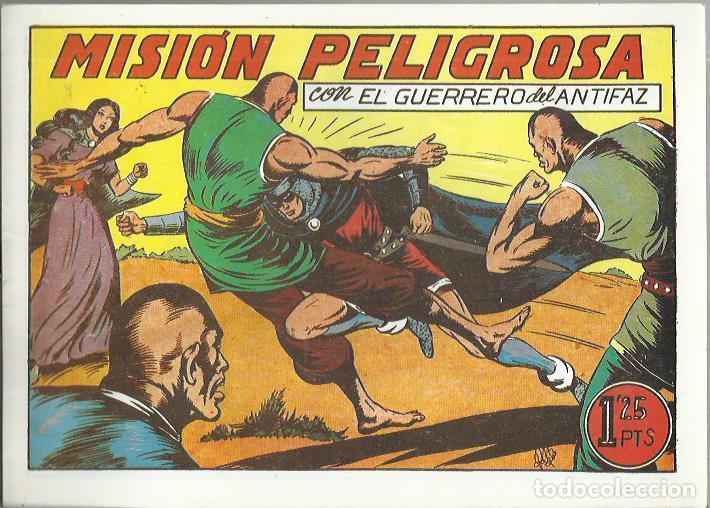 Tebeos: EL GUERRERO DEL ANTIFAZ ( COMIC-MAN ) AÑO 1980 ? LOTE - Foto 100 - 26874139