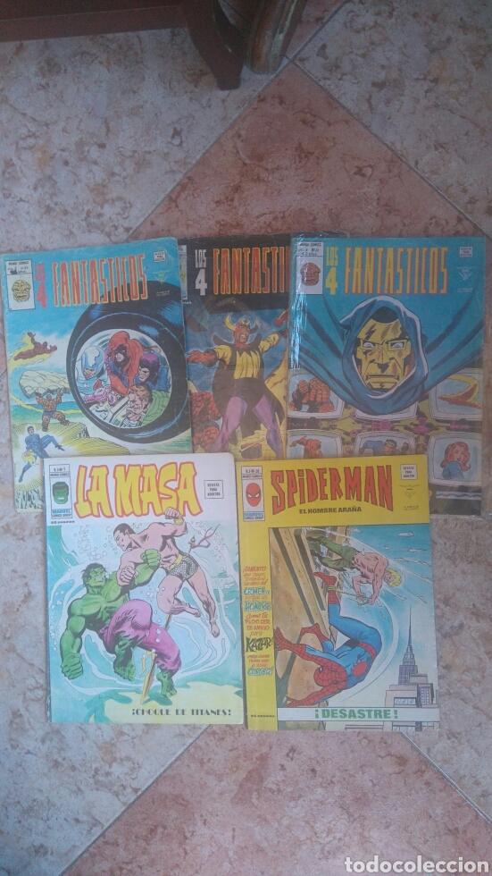 LOTE DE COMICS DE LA EDITORIAL VERTICE (Tebeos y Comics - Tebeos Pequeños Lotes de Conjunto)