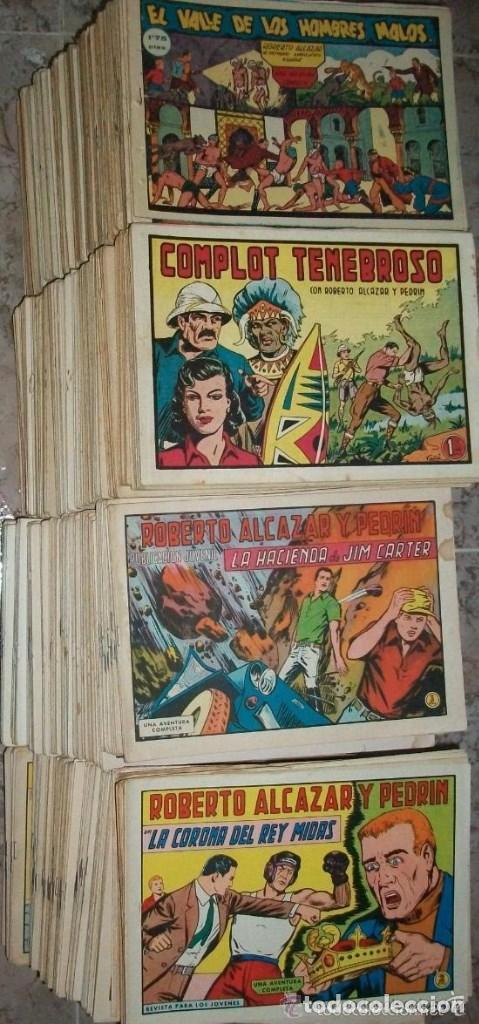 ROBERTO ALCAZAR (VALENCIANA) (COMPLETA 1219 NUMEROS) VER DESCRIPCION (Tebeos y Comics - Tebeos Colecciones y Lotes Avanzados)