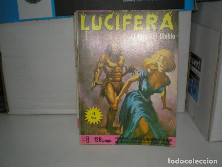LOTE DE LUCIFERA CON 8 EJEMPLARES (Tebeos y Comics - Tebeos Colecciones y Lotes Avanzados)