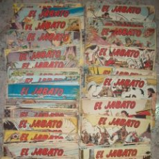 Tebeos: EL JABATO LOTE DE 280 NUMEROS DIFERENTES (VER DESCRIPCION). Lote 80867979
