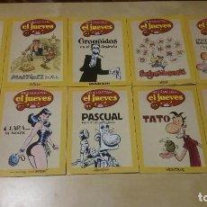 Tebeos: CLASICOS EL JUEVES - LOTE DE 11 NUMEROS DE 12 - 1,2,3,4,5,6,7,8,9 ,10 Y 12. Lote 81142740