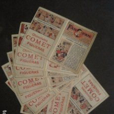 Tebeos: FAN FAN - COLECCION DE 10 MINI COMICS ANTIGUOS -CROMOS CHOCOLATES COMET - VER FOTOS -(V-10.317). Lote 82030640