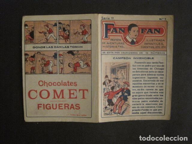 Tebeos: FAN FAN - COLECCION DE 10 MINI COMICS ANTIGUOS -CROMOS CHOCOLATES COMET - VER FOTOS -(V-10.317) - Foto 4 - 82030640
