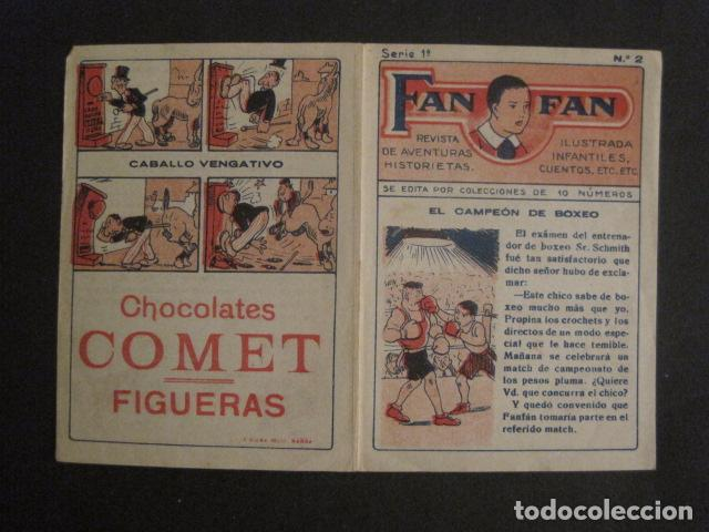 Tebeos: FAN FAN - COLECCION DE 10 MINI COMICS ANTIGUOS -CROMOS CHOCOLATES COMET - VER FOTOS -(V-10.317) - Foto 6 - 82030640