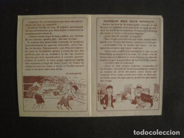 Tebeos: FAN FAN - COLECCION DE 10 MINI COMICS ANTIGUOS -CROMOS CHOCOLATES COMET - VER FOTOS -(V-10.317) - Foto 7 - 82030640
