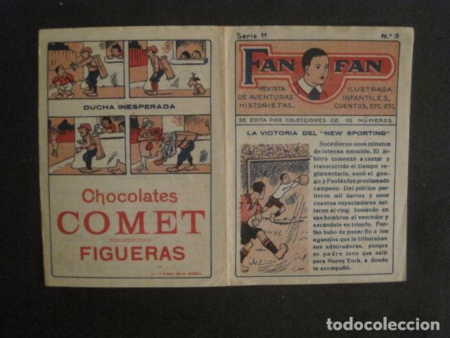 Tebeos: FAN FAN - COLECCION DE 10 MINI COMICS ANTIGUOS -CROMOS CHOCOLATES COMET - VER FOTOS -(V-10.317) - Foto 8 - 82030640