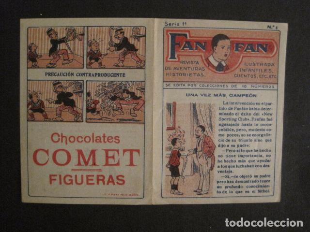 Tebeos: FAN FAN - COLECCION DE 10 MINI COMICS ANTIGUOS -CROMOS CHOCOLATES COMET - VER FOTOS -(V-10.317) - Foto 10 - 82030640
