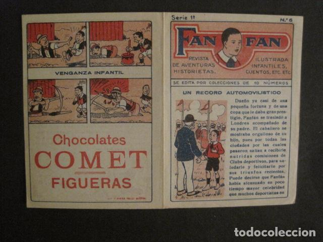Tebeos: FAN FAN - COLECCION DE 10 MINI COMICS ANTIGUOS -CROMOS CHOCOLATES COMET - VER FOTOS -(V-10.317) - Foto 14 - 82030640
