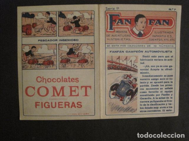 Tebeos: FAN FAN - COLECCION DE 10 MINI COMICS ANTIGUOS -CROMOS CHOCOLATES COMET - VER FOTOS -(V-10.317) - Foto 16 - 82030640