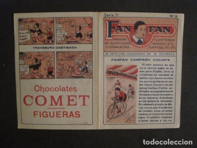 Tebeos: FAN FAN - COLECCION DE 10 MINI COMICS ANTIGUOS -CROMOS CHOCOLATES COMET - VER FOTOS -(V-10.317) - Foto 18 - 82030640