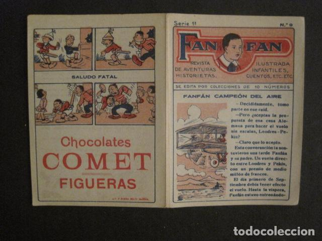 Tebeos: FAN FAN - COLECCION DE 10 MINI COMICS ANTIGUOS -CROMOS CHOCOLATES COMET - VER FOTOS -(V-10.317) - Foto 20 - 82030640