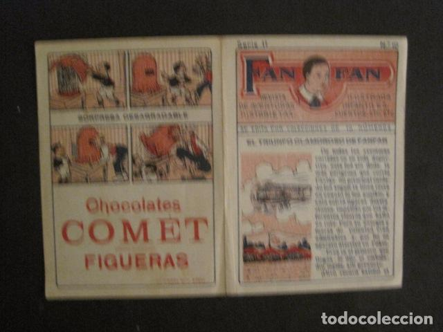 Tebeos: FAN FAN - COLECCION DE 10 MINI COMICS ANTIGUOS -CROMOS CHOCOLATES COMET - VER FOTOS -(V-10.317) - Foto 22 - 82030640