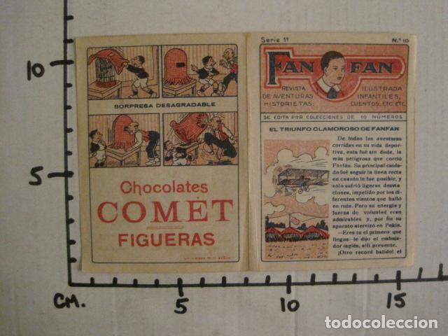 Tebeos: FAN FAN - COLECCION DE 10 MINI COMICS ANTIGUOS -CROMOS CHOCOLATES COMET - VER FOTOS -(V-10.317) - Foto 24 - 82030640