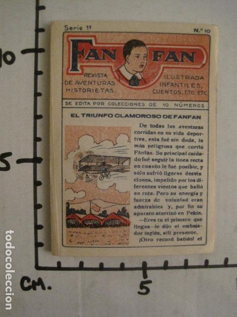Tebeos: FAN FAN - COLECCION DE 10 MINI COMICS ANTIGUOS -CROMOS CHOCOLATES COMET - VER FOTOS -(V-10.317) - Foto 25 - 82030640