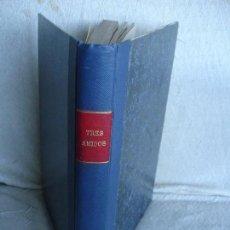 Tebeos: TRES AMIGOS. CONJUNTO DE 12 PUBLICACIONES DE LA REVISTA (NÚMEROS DEL 96 AL 107). Lote 82041516