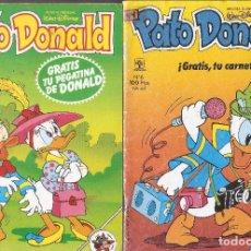 Tebeos: LOTE 2 REVISTAS PATO DONALD - EDT. PRIMAVERA - Nº 5,6 - 1989.. Lote 49982228