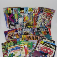 Tebeos: LOTE PACK 60 COMIC FORUM, GIJOE, TRANSFORMERS, MARVEL HÉROES, WHAT IF, 4F, NICK FURIA, OFRT. Lote 64084985