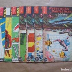 Tebeos: AVENTURAS FANTÁSTICAS - 20000 LEGUAS DE VIAJE SUBMARINO - JULIO VERNE - VALOR 1955 - JLV. Lote 86026348