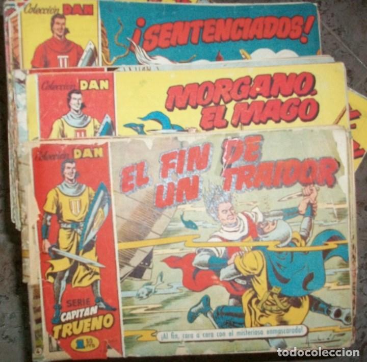 CAPITAN TRUENO (BRUGUERA) LOTE DE 539 NUMEROS DIFERENTES (VER DESCRIPCION) (Tebeos y Comics - Tebeos Pequeños Lotes de Conjunto)