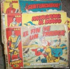Tebeos: CAPITAN TRUENO (BRUGUERA) LOTE DE 539 NUMEROS DIFERENTES (VER DESCRIPCION). Lote 86400368
