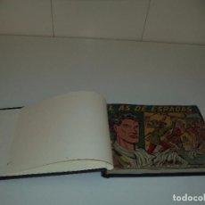 Tebeos: EL AS DE ESPADAS AÑO 1954 COLECCIÓN COMPLETA SON 30 TEBEOS ORIGINALES ENCUADERNADA POCO GUILLOTINADA. Lote 86462308