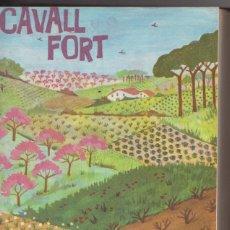 Tebeos: CAVALL FORT DEL Nº 61 AL 80 ENCUADERNADOS EN UN TOMO. Lote 86509508