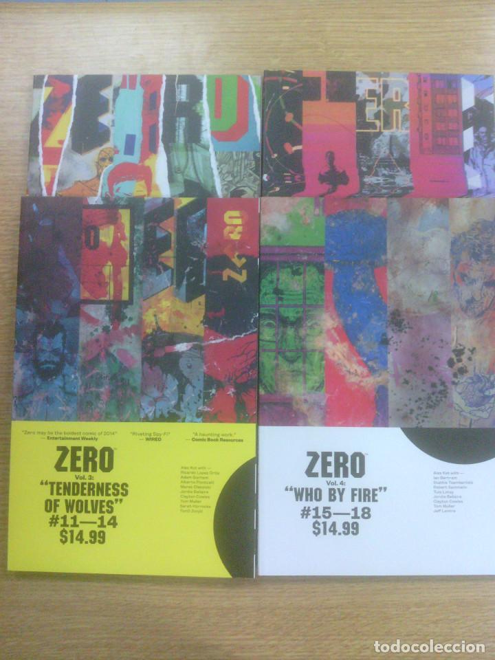 ZERO COLECCION COMPLETA (4 TOMOS - EN INGLES) (Tebeos y Comics - Tebeos Pequeños Lotes de Conjunto)