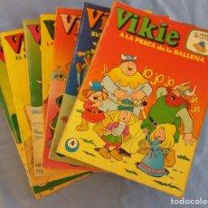 Tebeos: 8 COMICS DE VIKIE EL VIKINGO DE ERSA AÑOS 70 ORIGINALES. Lote 86646196