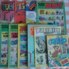 Tebeos: BUHARDILLA, COPITO Nº 1, SUPER DDT, DDT (3), JAIMITO, LILY, TOM Y JERRY, VALENTIN TIN-TAN(10 TEBEOS). Lote 70519221