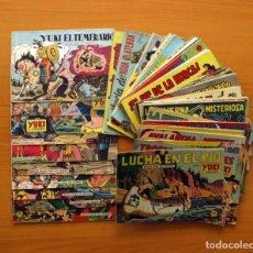 Tebeos: YUKI EL TEMERARIO - EDITORIAL VALENCIANA 1958 - COLECCIÓN COMPLETA, 112 TEBEOS, VER FOTOS INTERIORES. Lote 86665036