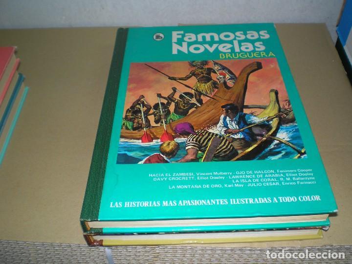 FAMOSAS NOVELAS DE BRUGUERA (Tebeos y Comics - Tebeos Colecciones y Lotes Avanzados)