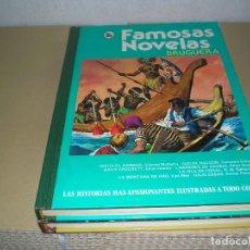 Tebeos: FAMOSAS NOVELAS DE BRUGUERA. Lote 86667236