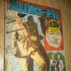 Tebeos: KUNG-FU, COMICS ALBUM EXTRA 3 EN 1 --1973 EDIC. CASCO DE ACERO ARGENTINA B Y N, TIPO NOVARO. Lote 86721876