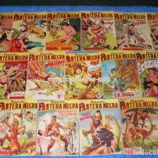 Tebeos: GRAN LOTE DE 38 TEBEOS ORIGINALES 1958 PEQUEÑO PANTERA NEGRA EDITORIAL MAGA DEL Nº 60 AL 107 MIRA !!. Lote 86903888