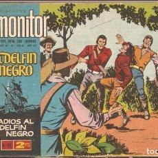 Tebeos: EL DELFIN NEGRO, AÑO 1.964. COLECCIÓN COMPLETA DE 42. TEBEOS ORIGINALES EDITORIAL IBEROMUNDIAL.. Lote 87009968